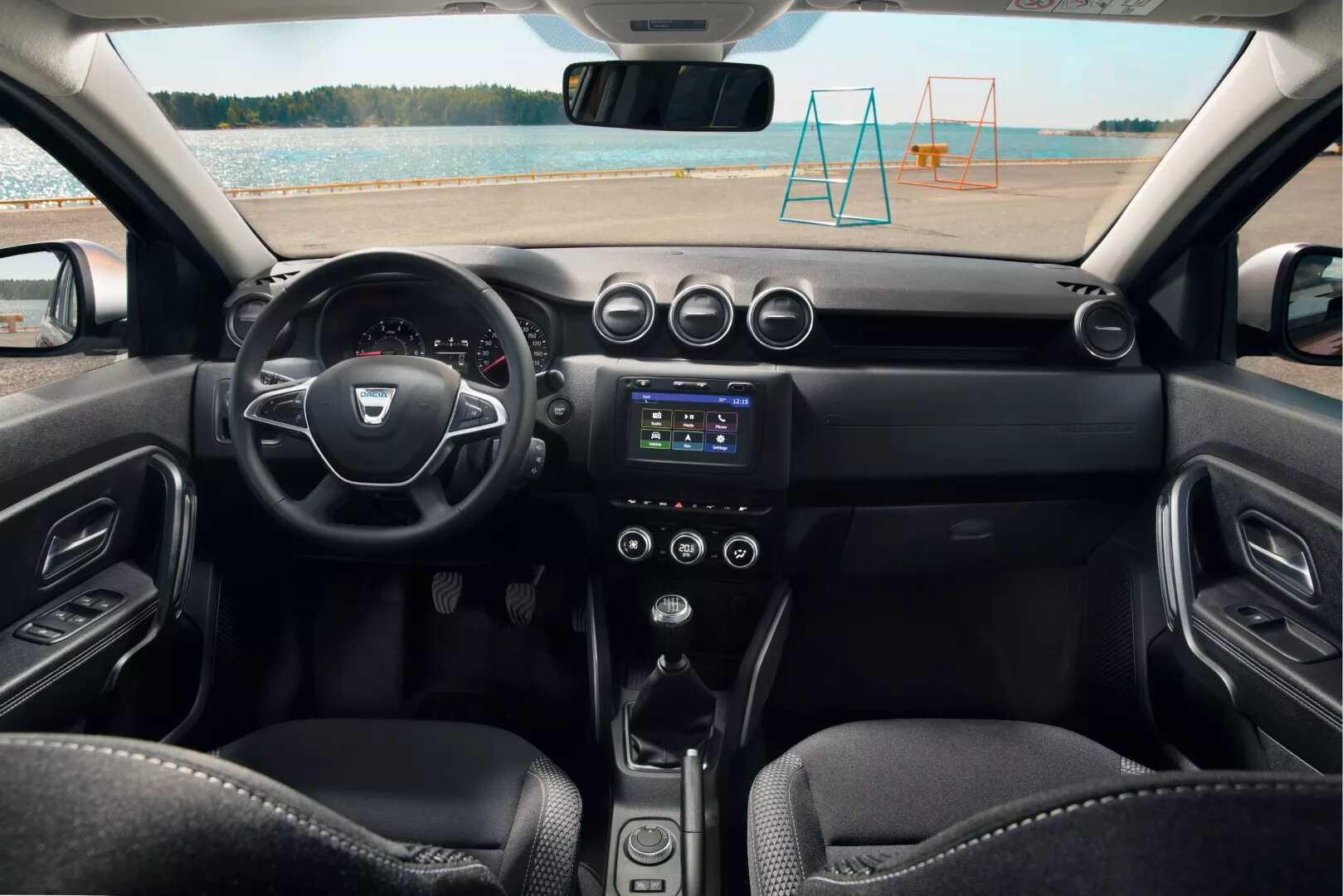 Ecran tactile pour autoradio Android Duster